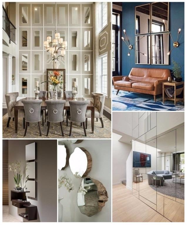 Decorar Con Espejos 40 Preciosas Ideas Para Tu Hogar - Ideas-para-decorar-con-espejos