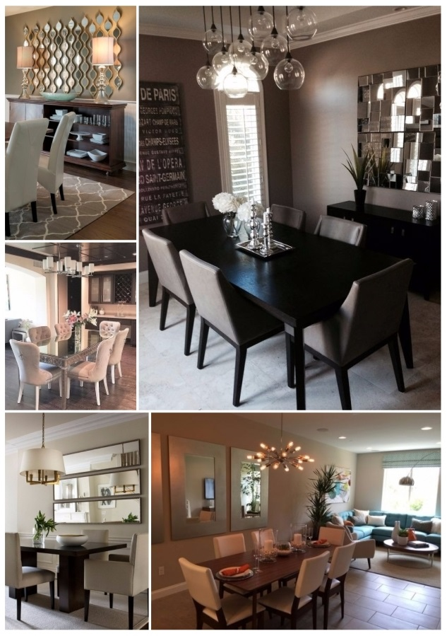 Decorar con espejos 40 preciosas ideas para tu hogar for Espejos para decoracion de comedores