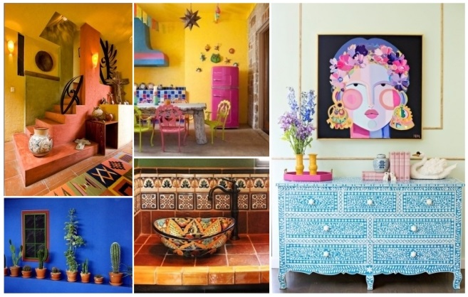Decoraci n estilo mexicano 50 ideas para decorar tu hogar - Articulos decoracion jardin ...