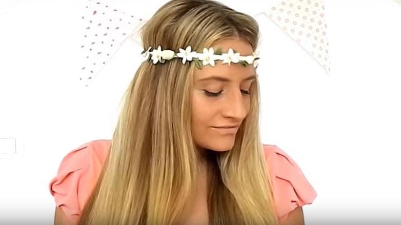 peinados con diadema sencillos