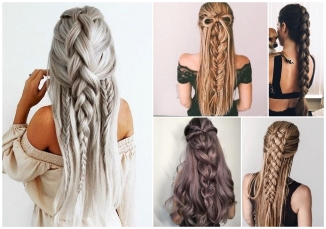 estilos de peinados para cabello largo
