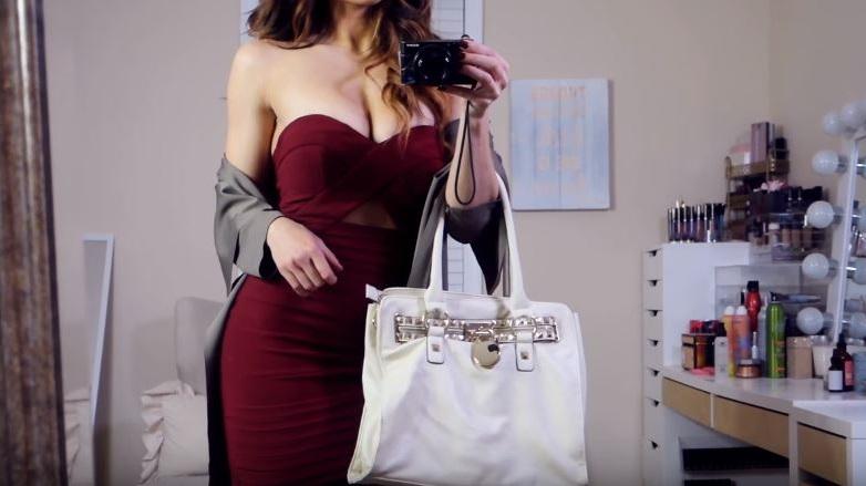 como combinar un vestido