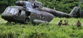 Diez muertos en accidente de helicóptero del Ejército en Segovia Antioquia.
