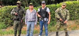 Policia Valle rescata a agricultor secuestrado en Dagua.