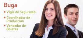 Aplica a estas tres vacantes en la ciudad de Guadalajara de Buga.
