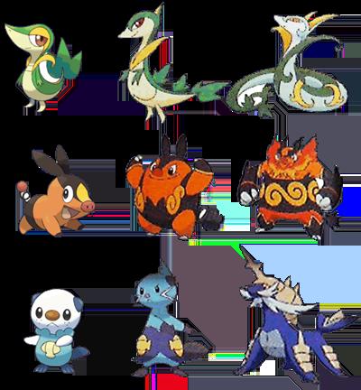 Ya se conocen las evoluciones de Tsutarja, Pokabu y Mijumaru