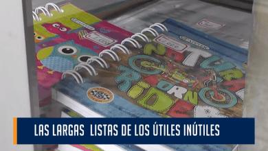 Las largas listas de los útiles inútiles