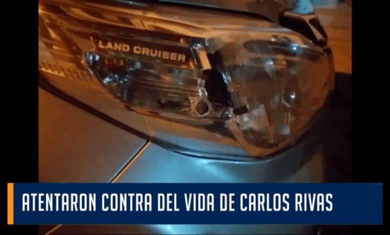 Carlos Rivas, sufrió un atentado. El líder sindicalr