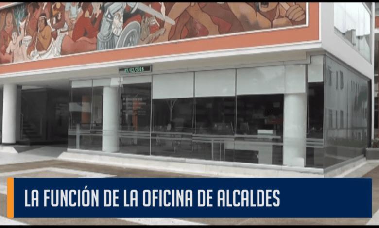 LA FUNCIÓN DE LA OFICINA DE ALCALDES