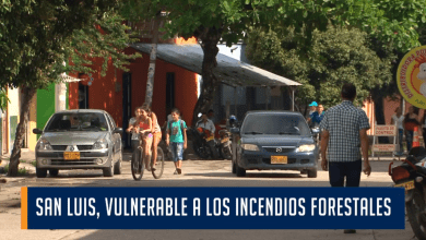 SAN LUIS, VULNERABLE A LOS INCENDIOS FORESTALES