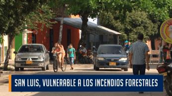 SAN LUIS, VULNERABLE A LOS INCENDIOS FORESTALES