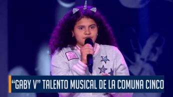 """DANNA"" TALENTO MUSICAL DE LA COMUNA CINCO"