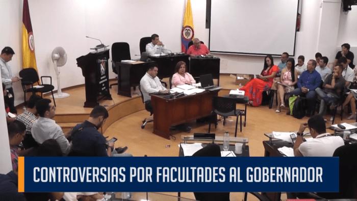 CONTROVERSIAS POR FACULTADES AL GOBERNADOR
