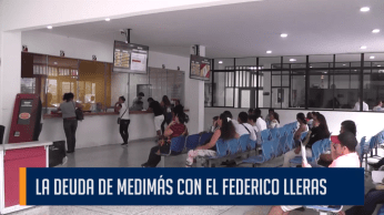 LA DEUDA DE MEDIMÁS CON EL FEDERICO LLERAS
