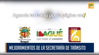 MEJORAMIENTOS DE LA SECRETARÍA DE TRÁNSITO