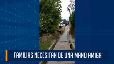 Photo of La dura crisis que enfrentan  habitantes del barrio Augusto E. Mediana parte alta