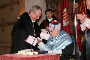 Doctorado Honoris Causa, Barcelona 2005