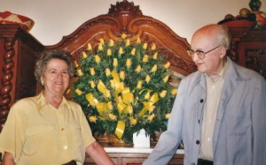 Bodas de oro de F. Canals Vidal y su esposa, Isabel
