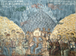 Primer Concilio de Constantinopla, Iglesia de Stavropoleos, Bucarest (Rumania)