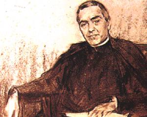 J. Verdaguer, retrato de Ramon Casas