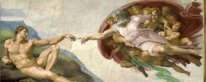 Creación de Adán, Miguel Ángel (Capilla Sixtina)