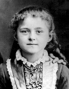 Sta. Teresita de Lisieux de niña