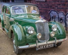 Riley 1.5 a high performance road car in its day