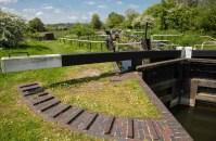 Monkey Marsh Lock 90 from the east.