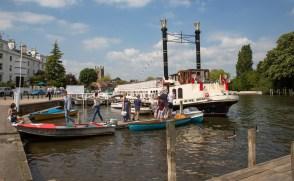 Splendid trip boat at Henley.