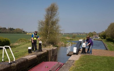 Lock 4 and 7 more to go to Curdworth Bottom Lock.