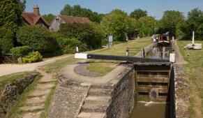 Pigeon's Lock 39 near Kirtlington.