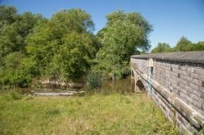 River Cherwell crossing by Aynho Weir Bridge 188 - left