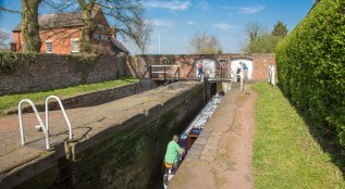 Penkridge Lock 38