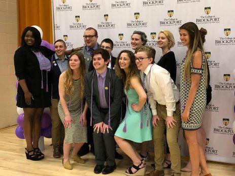 Graduates at the 2019 Lavender Ceremony