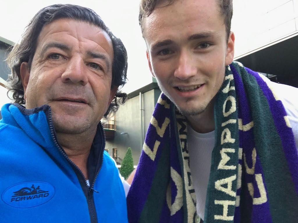 Sergio Sabadello y Daniil Medvedev