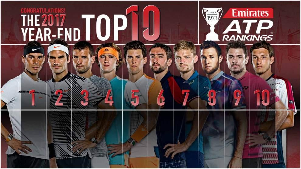 Top-10 ATP 2017