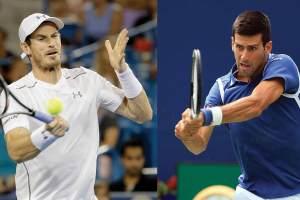 Andy Murray y Novak Djokovic