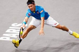 Nishikori Masters 1000 París