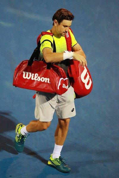 David Ferrer se despide de un torneo