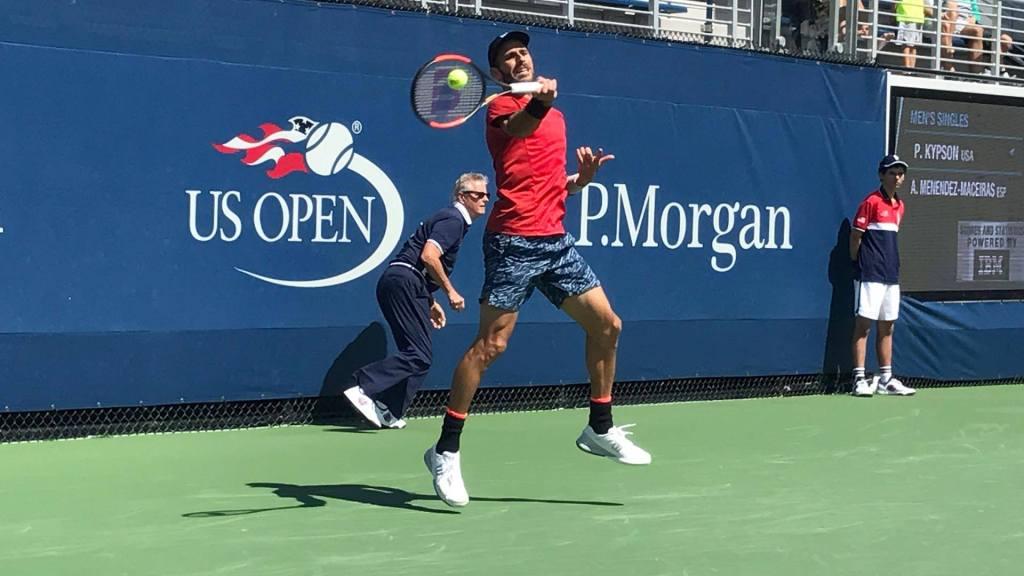 Adrián Menéndez Maceiras en el US Open