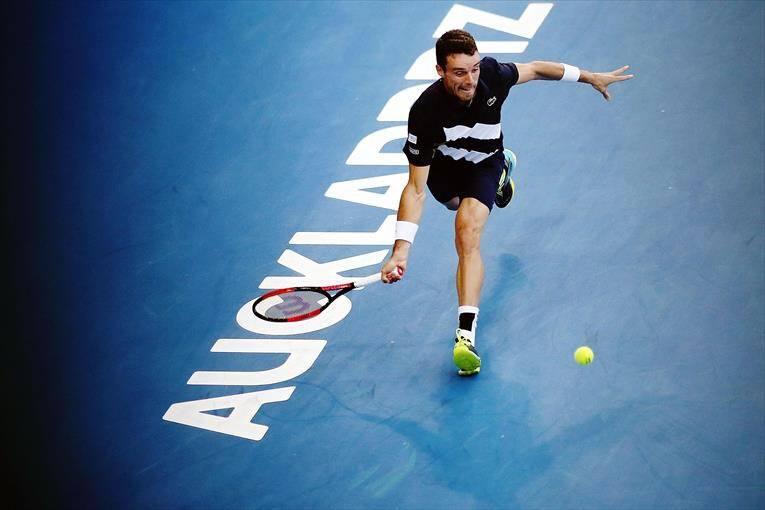 Roberto Bautista en el ATP de Auckland
