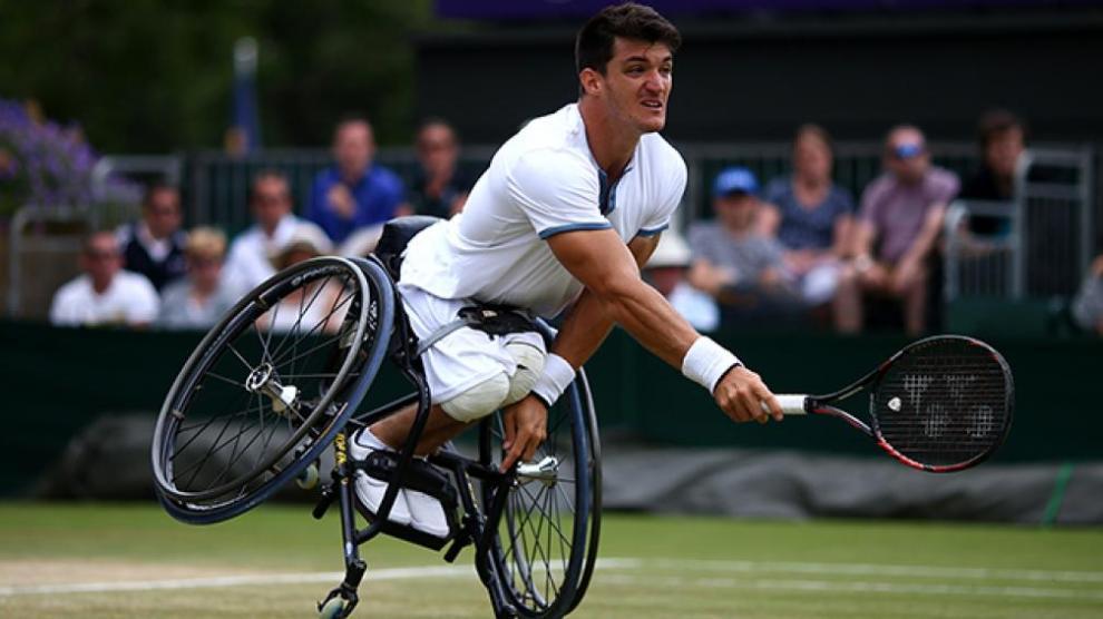 Gustavo Fernández en Wimbledon