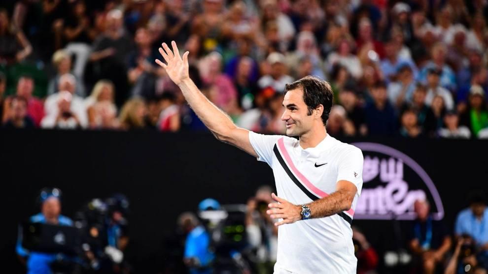 Roger Federer pasa a la final del Open de Australia 2018