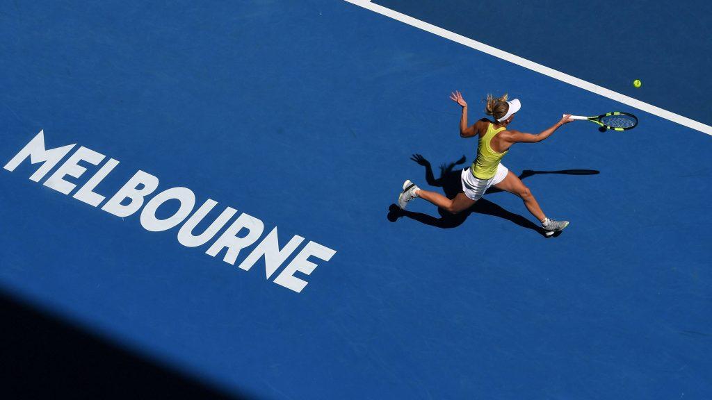 Wozniacki Open de Australia 2018