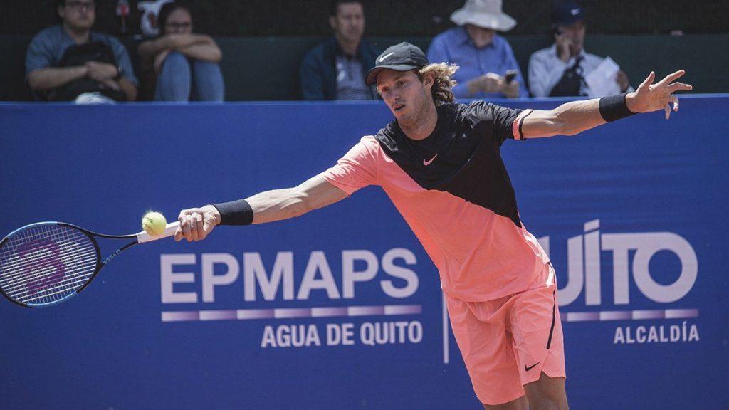 Nicolas Jarru en el ATP de Quito