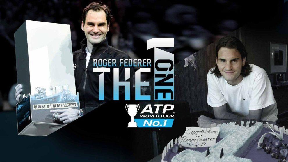 Federer primera y última vez tras ser número uno