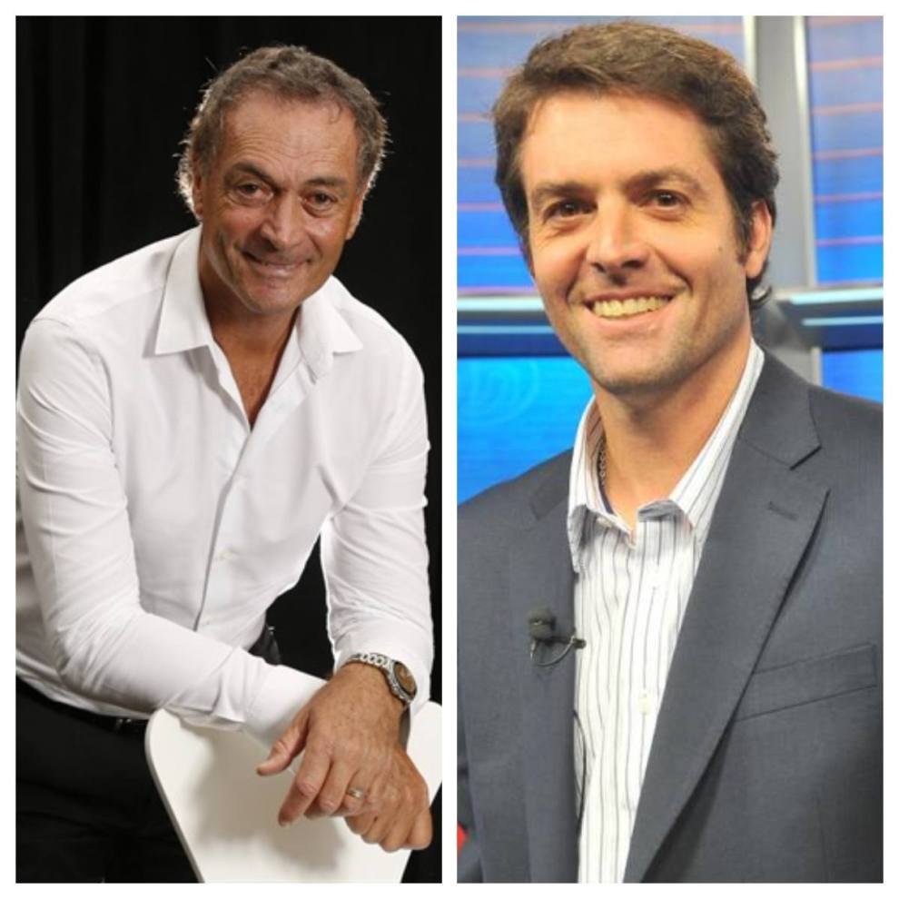 Agustín Calleri y José Luis Clerc