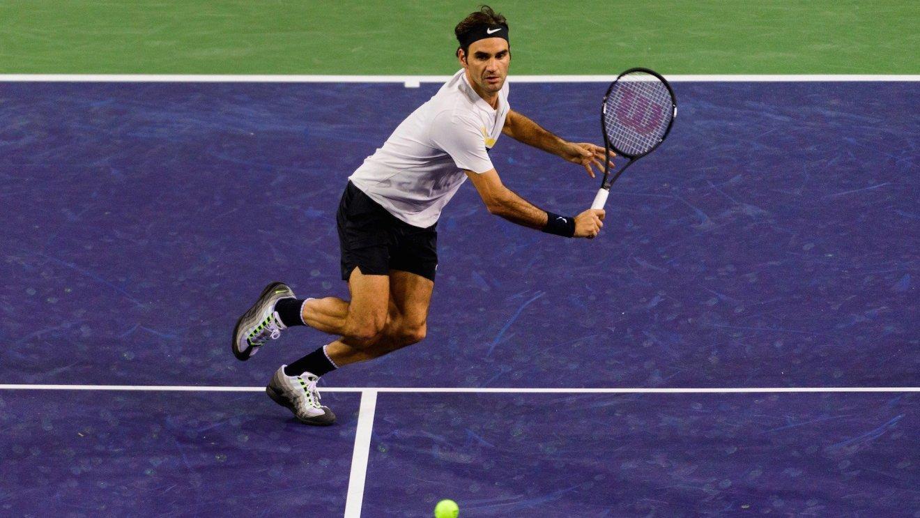 Roger Federer en Indian Wells 2018