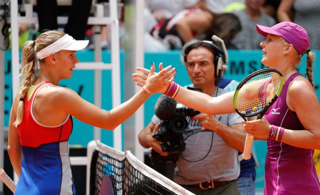 Kiki Bertens Mutua Madrid Open