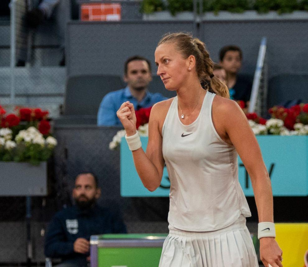 Petra Kvitova Mutua Madrid Open